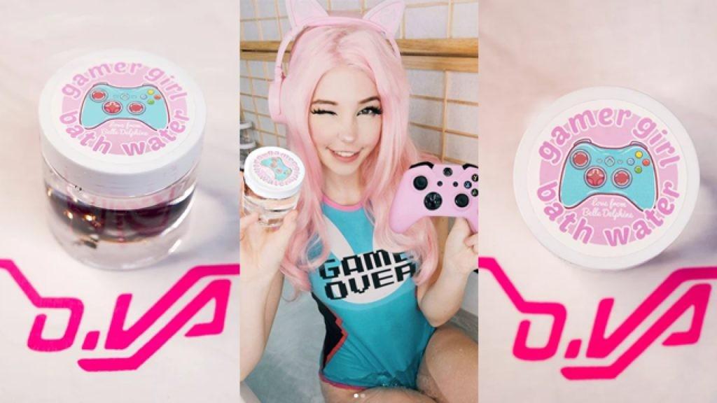 gamer girl porn water