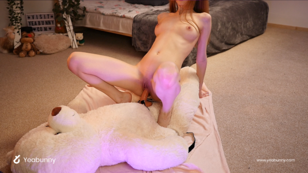 Bunny Marthy fucks Teddy Bear